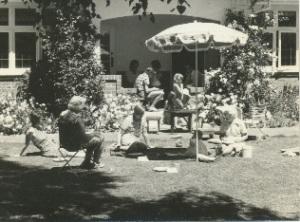 lawn gathering